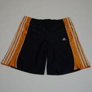 Adidas Men's Athletic Shorts Dark Blue Size XL